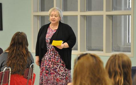 TEACHER of the MONTH: Cook combines theatrics, teaching