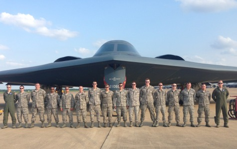 Alumni flying high as Stealth Bomber Air Force pilot