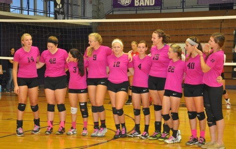 Volleyball team plays for cure at 4th annual Dig Pink
