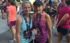 Senior participates in first ever half marathon