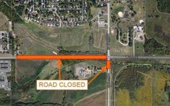 Lawrence construction slows traffic