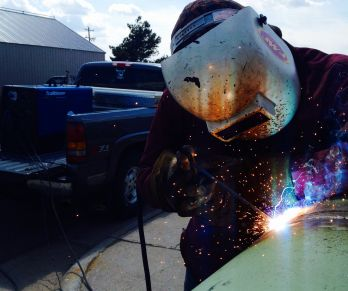 WHERE ARE THEY NOW? Austin Chavez now a welder after graduation