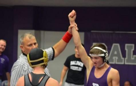 Wrestler overcomes odds