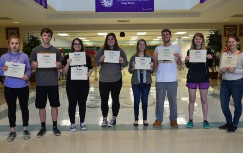 Journalism students successful at KSPA Regionals, looking forward to State
