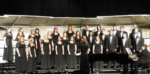 Choirs gear up for winter concert