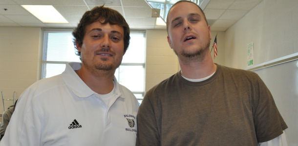 Teacher, students participate in No-Shave November for good cause