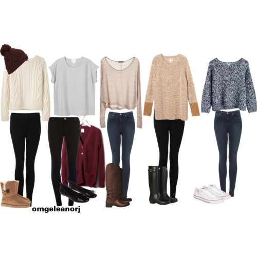 Winter clothes in style