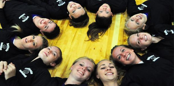 Volleyball squad digging successful season, preparing for Dig Pink Night