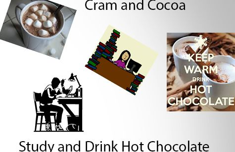 A finals tradition, Cram and Cocoa
