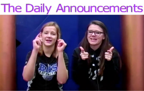 Daily Announcements 12/11/15