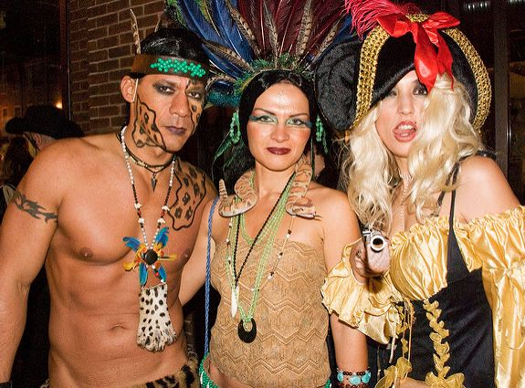 Racially offensive Halloween costumes negatively depict Native Americans, and sexualize their culture.