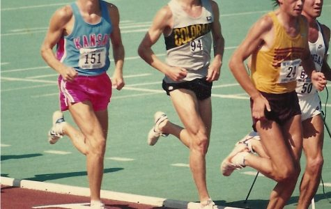 BHS coach Mike Spielman was a runner at the University of Kansas in the late 1980s.