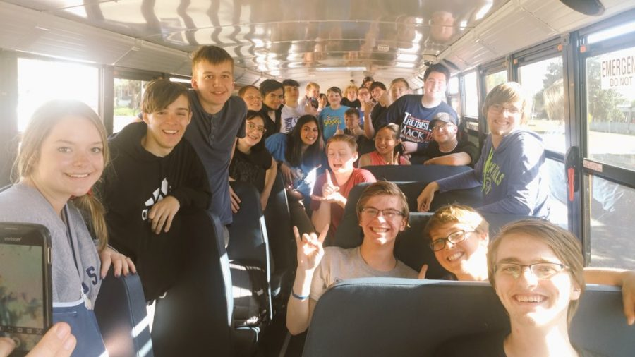 BHS choir students are on their way to Larned for the 2019 KSHSAA State Solo and Small Ensembles Music Festival.