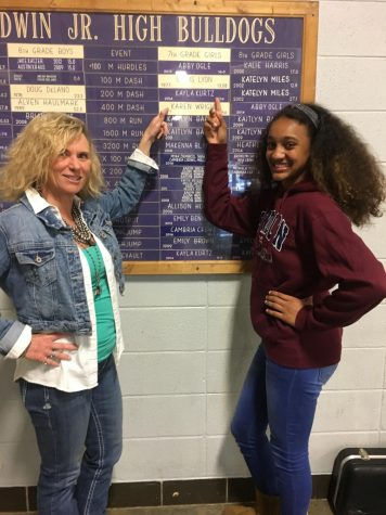 BJHS track runner breaks her teacher's 42-year-old record