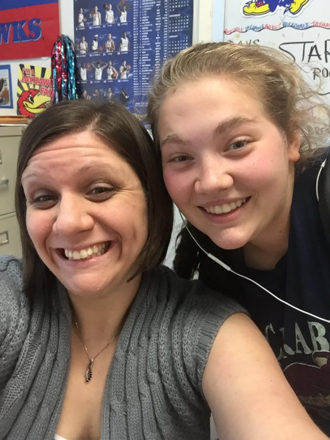 A peek into Algebra I teacher Danielle Balsman