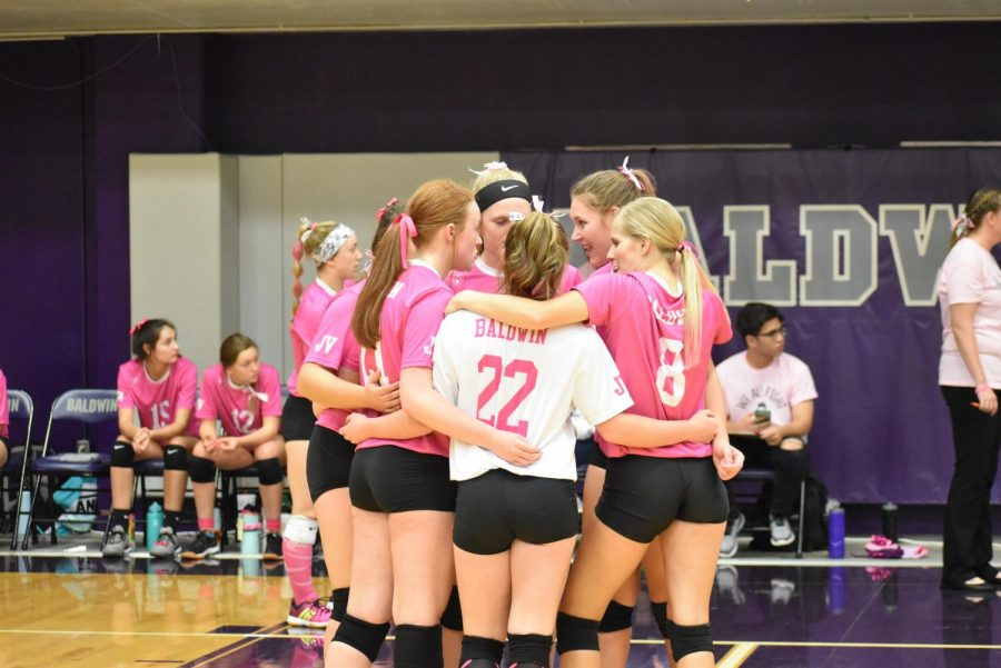 High hopes for volleyball in mid-season