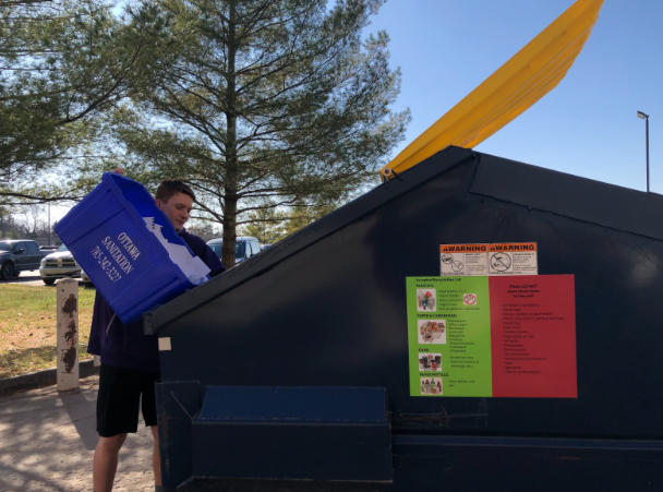 Recycling program re-established at BHS