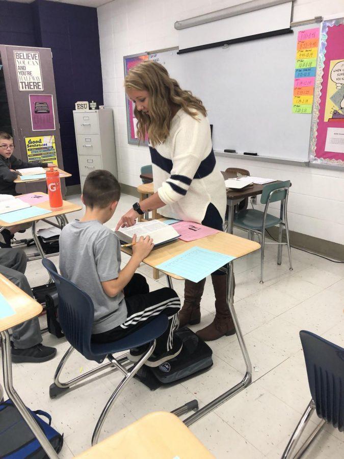 Johnson returns to teach at BJHS