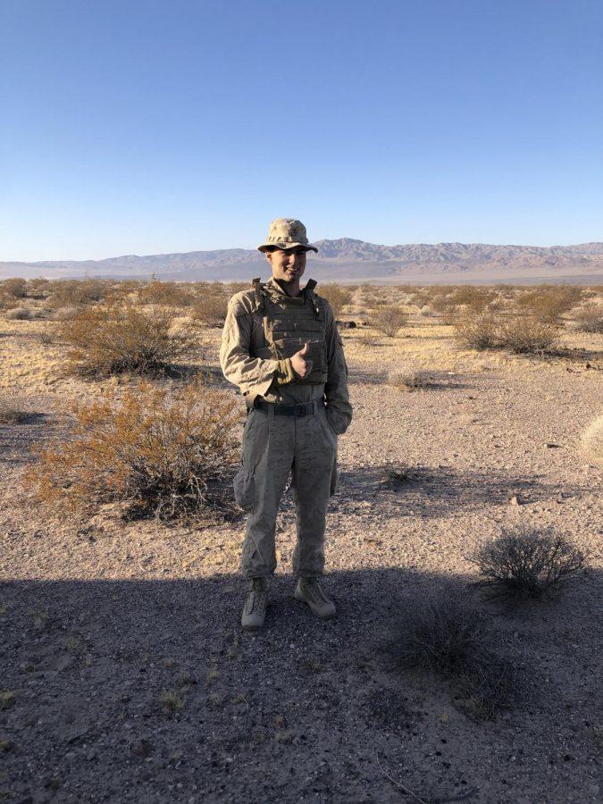 ALUMNI SPOTLIGHT: Cole Blake, U.S. Marine