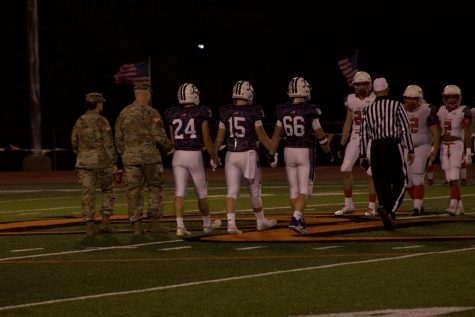 Military Night makes re-appearance at BHS football game