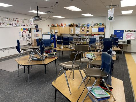 USD 348 classrooms now empty due to COVID-19 pandemic