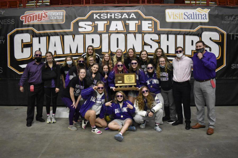 Girls wrestling team wins team state championship
